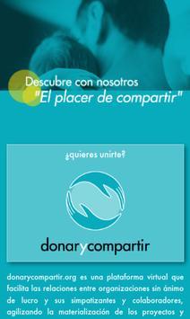 donarycompartir.org poster