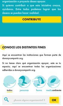 donarycompartir.org apk screenshot
