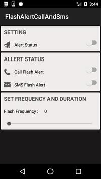 Flash Alert on Call &  SMS screenshot 2