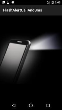 Flash Alert on Call &  SMS apk screenshot