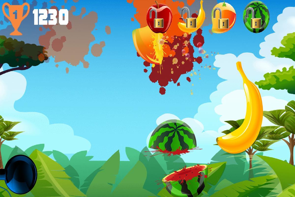 Learn to type fruit ninja