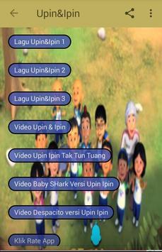 Lagu Upin & Ipin Video poster