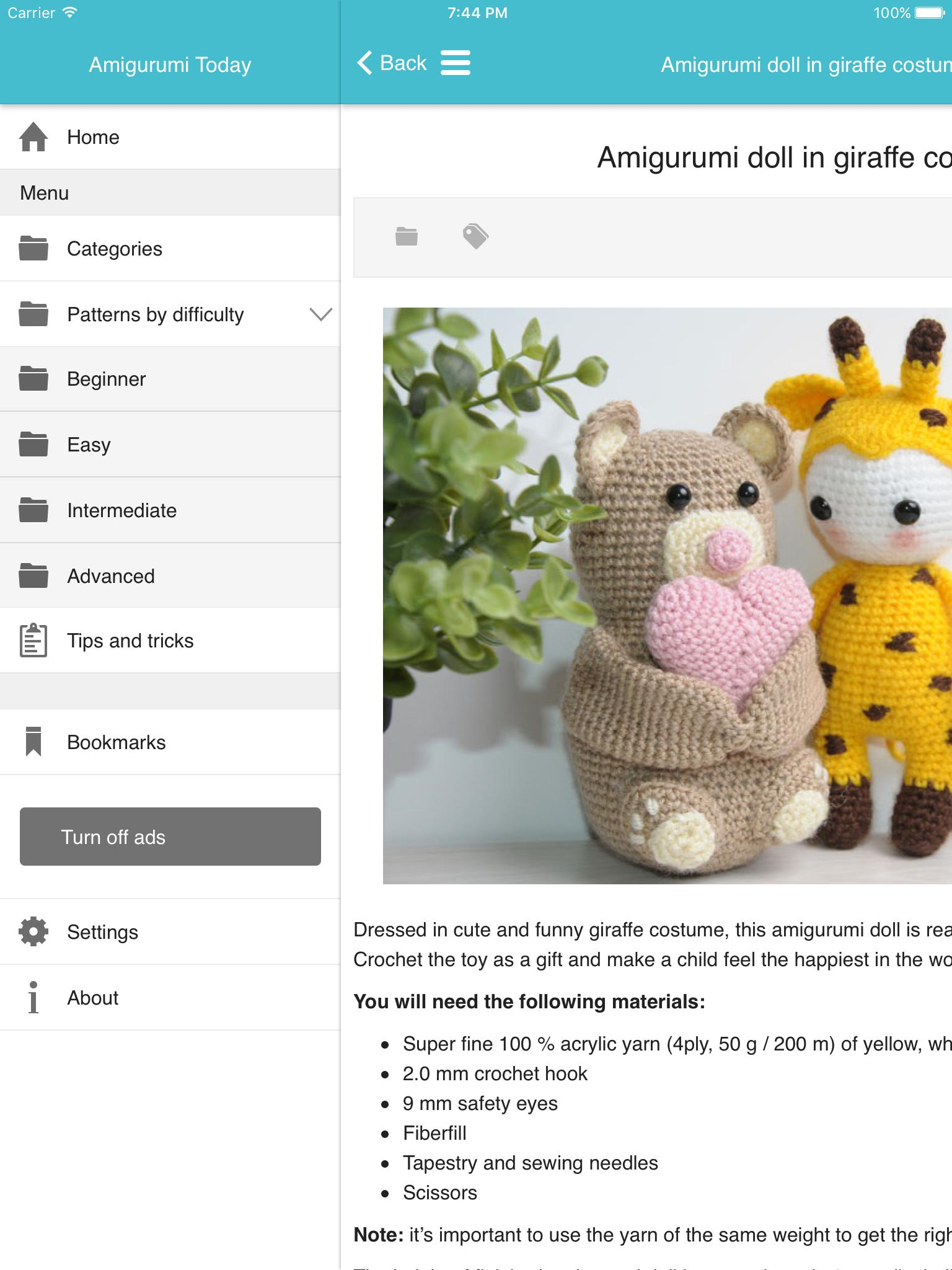 DIY Crochet Hippo and Giraffe Amigurumi | UsefulDIY.com | 2048x1536