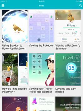 Pocket Guide for Pokemon GO apk screenshot