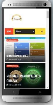 Giracoin News screenshot 1