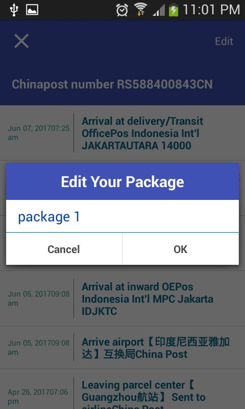 Tracking Tool For Chinapost for Android - APK Download