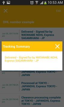 Tracking Tool For Dhl screenshot 4