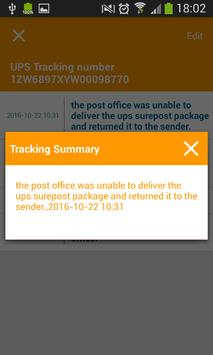 Tracking Tool For UPS screenshot 2