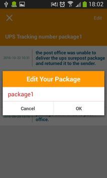 Tracking Tool For UPS screenshot 4