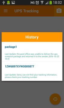 Tracking Tool For UPS apk screenshot