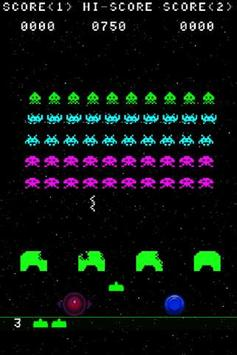 Invaders Game screenshot 1