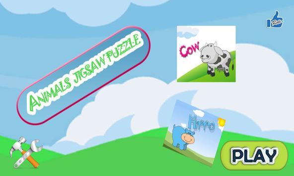 Animal Jigsaw Puzzle Game screenshot 1