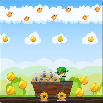Super Trolley Luigi poster