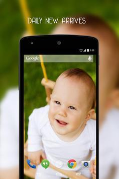 Kids wallpapers HD apk screenshot