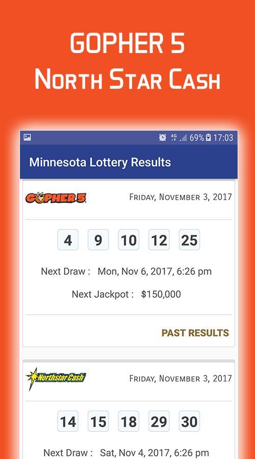Minnesota Lottery Results para Android - APK Baixar