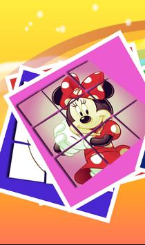 Slide Puzzle For Minnie Mouse poster