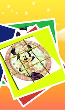 Slide Puzzle For Minnie Mouse apk screenshot
