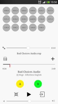 MP3 Effortless English Player screenshot 1