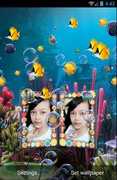 Couple Photo Aquarium Live Wallpaper poster