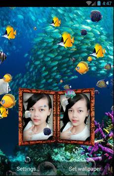 Couple Photo Aquarium Live Wallpaper screenshot 4