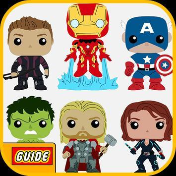 Top LEGO Marvel Avengers Guide poster