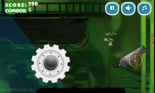 Jumping Mutant Ninja screenshot 4