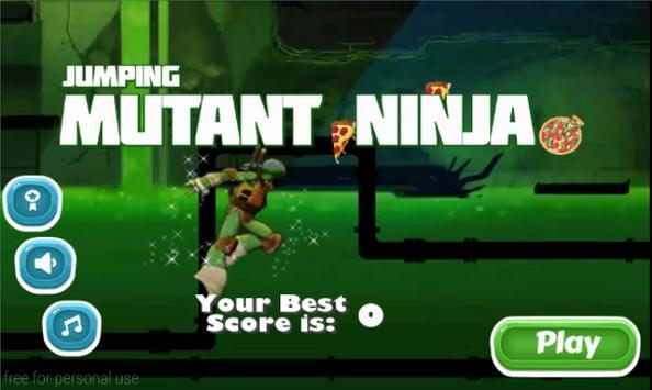Jumping Mutant Ninja screenshot 5