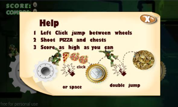 Jumping Mutant Ninja screenshot 6