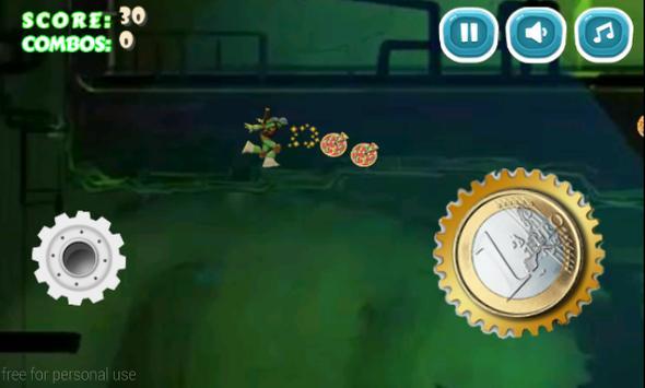 Jumping Mutant Ninja screenshot 1