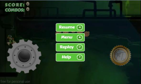 Jumping Mutant Ninja screenshot 3