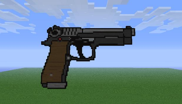 Guns Mod for MCPE poster