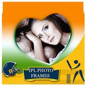 IPL 2017 photo frames maker icon