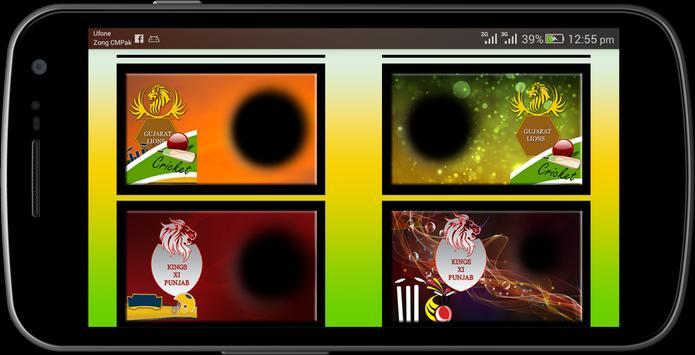 IPL 2017 photo frames maker screenshot 3