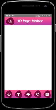 3d Logo maker & Logo designer apk screenshot