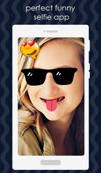Funny Face Valentine Sticker – Photo Editor poster