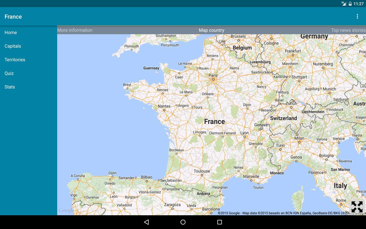 World atlas descarga apk gratis educacin aplicacin para android world atlas captura de pantalla de la apk gumiabroncs Images
