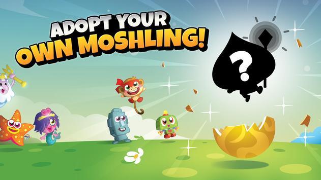 Moshi Monsters Egg Hunt poster
