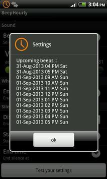 Beep Hourly apk screenshot