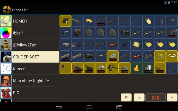 TF2 Backpack Viewer apk screenshot
