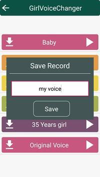 Girl Voice Changer apk screenshot