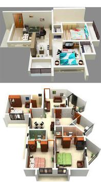 3D Home Plans Gallery HD poster