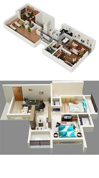 3D Home Plans Gallery HD apk screenshot