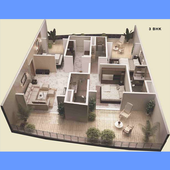 3D Home Plans Collection HD icon
