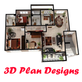 3D Home Plans HD icon