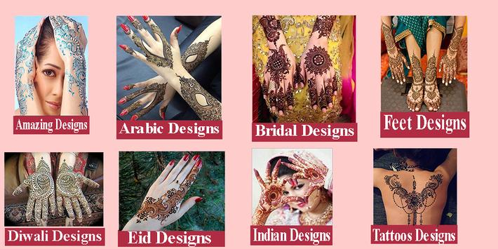 Latest Mehndi Designs 1000+ 2018 poster