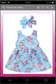 5000+ Latest Collection Of Baby Frock Designs HD screenshot 5