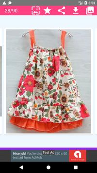 5000+ Latest Collection Of Baby Frock Designs HD screenshot 7