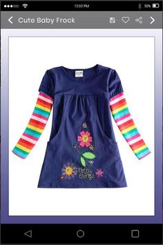 5000+ Latest Collection Of Baby Frock Designs HD screenshot 2