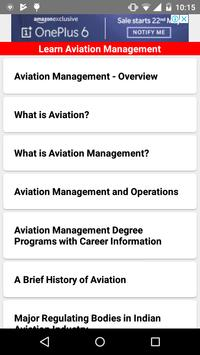Learn Aviation Management 2018 for Android - APK Download