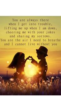 Love Quotes HD poster